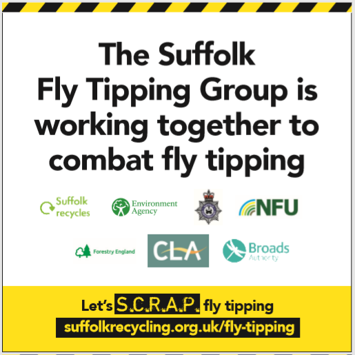Suffolk Fly Tipping Group Poster